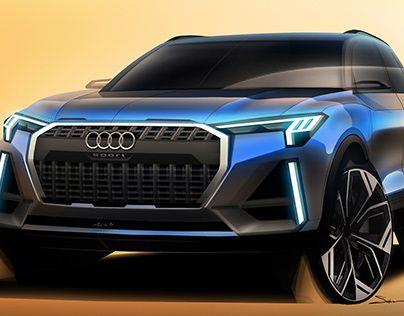 Audi vibe sketch.