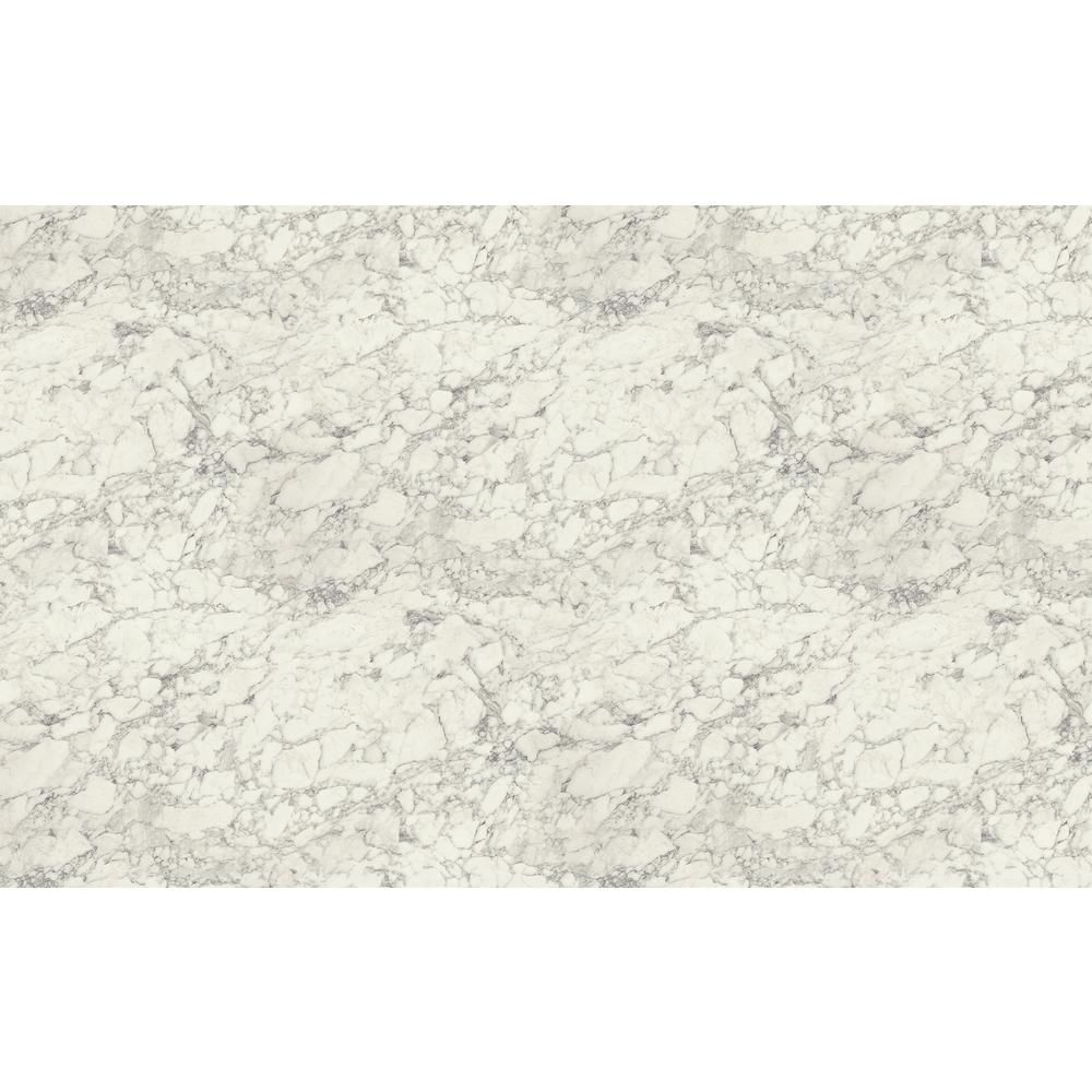 Wilsonart 4 Ft X 8 Ft Laminate Sheet In Marmo Bianco Premium