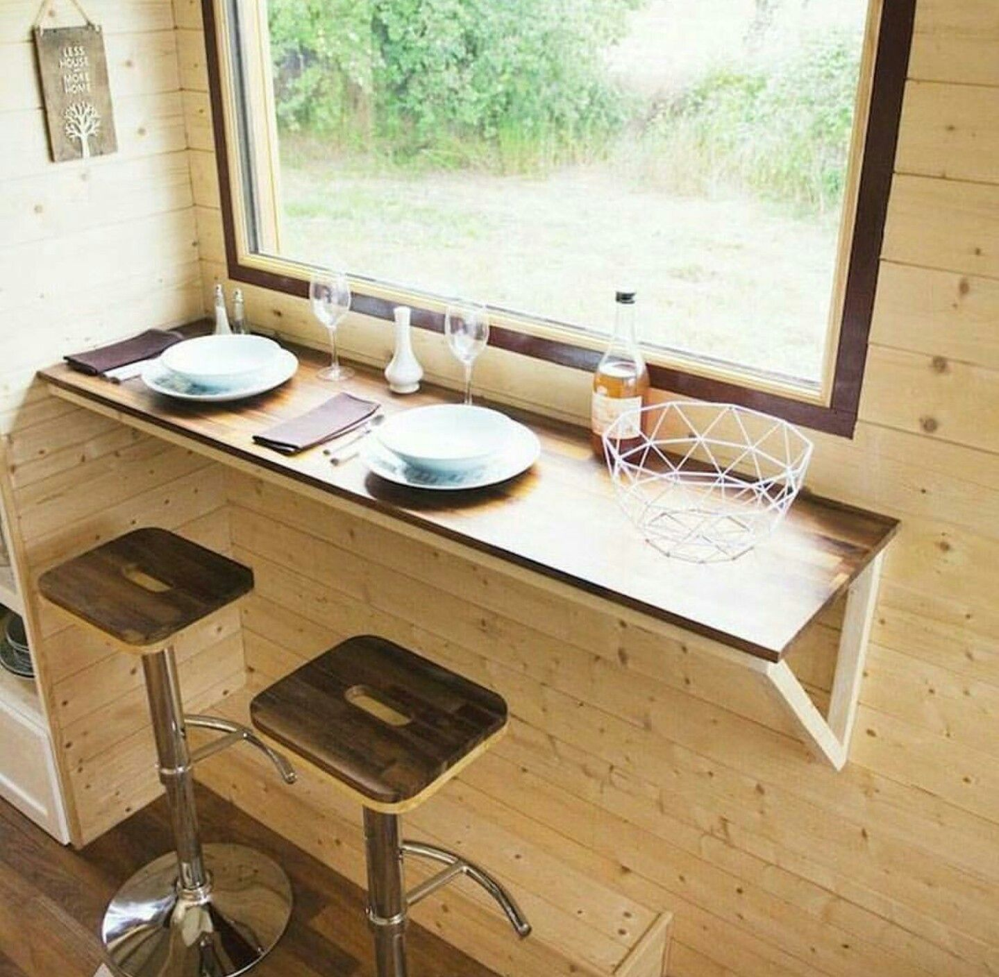 dinning tiny home treppe pinterest gartenh user treppe und wohnideen. Black Bedroom Furniture Sets. Home Design Ideas