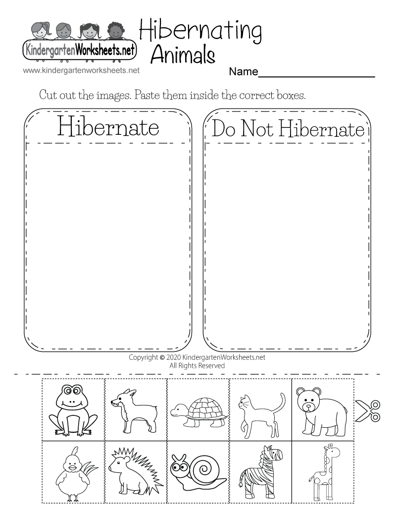 Hibernating Animals Worksheet For Kindergarten Free Printable Digital Animals That Hibernate Winter Kindergarten Worksheets Spring Worksheets Kindergarten [ 1035 x 800 Pixel ]