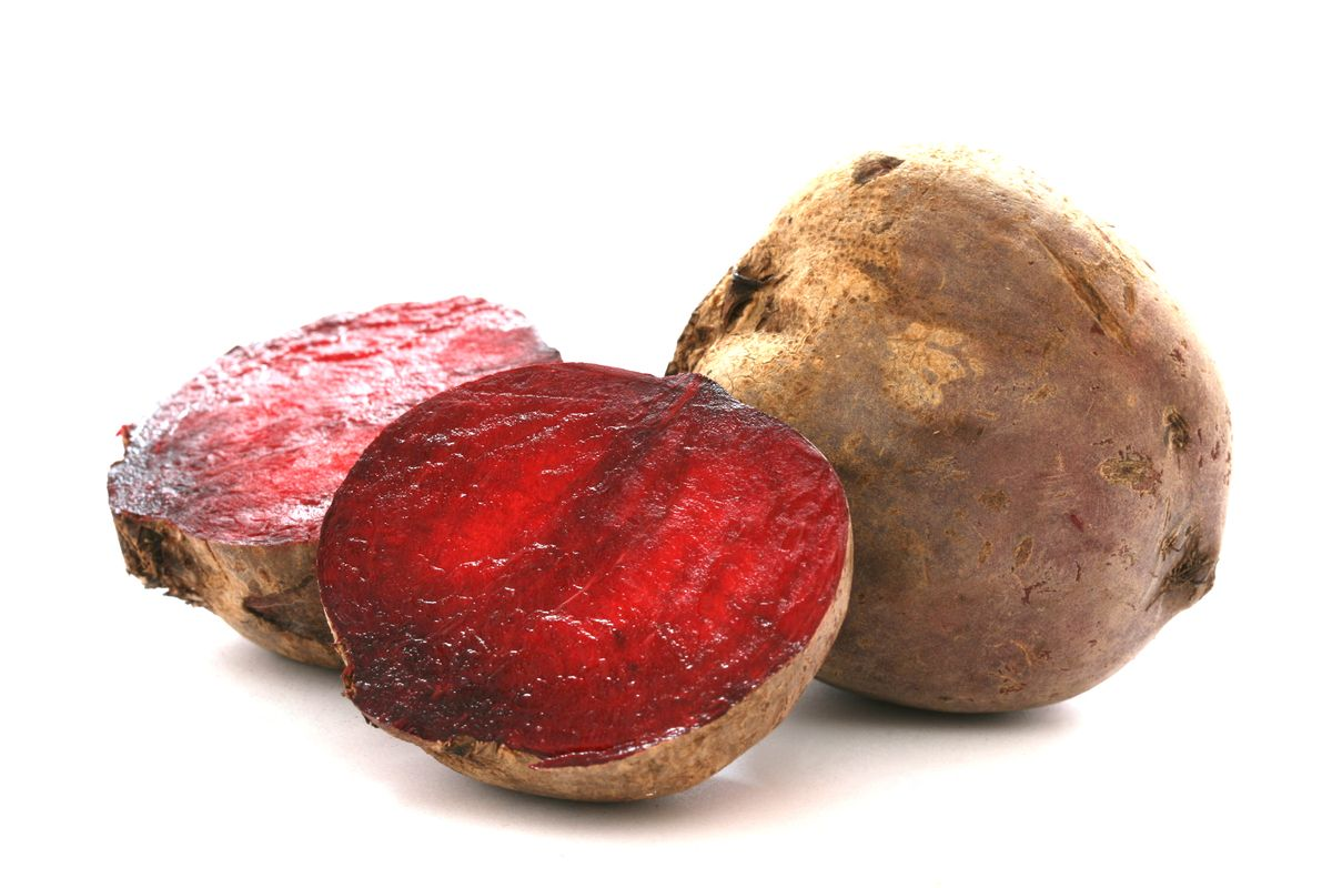 Detoxifying foods:  Beets. Great source of betacyanin, which has cancer-fighting properties. Plus, it's full of magnesium, iron, zinc and calcium to help flush out toxins.