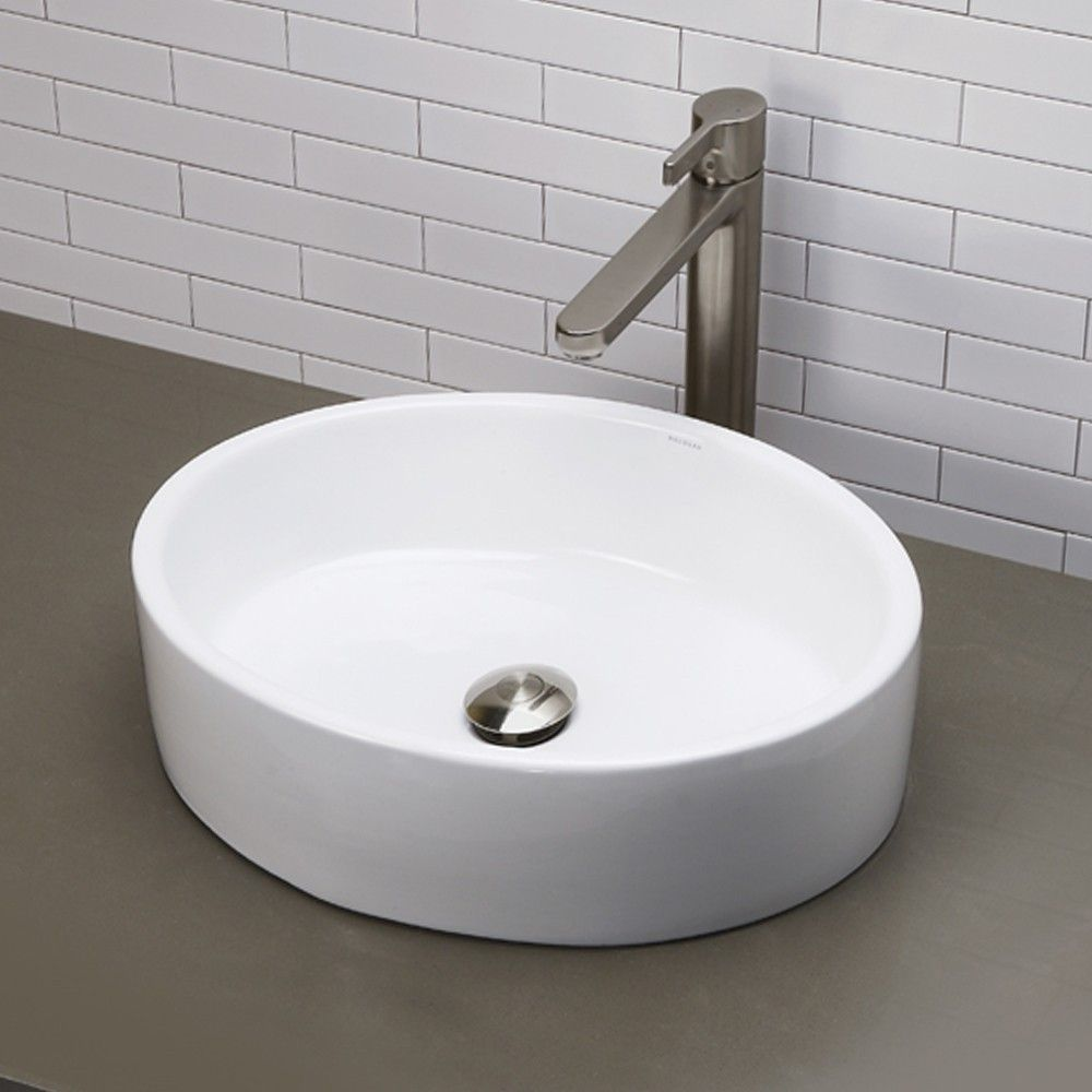 Decolav Classically Redefined Oval Vessel Bathroom Sink Reviews