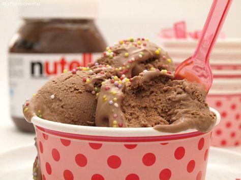Helado de Nutella - MisThermorecetas