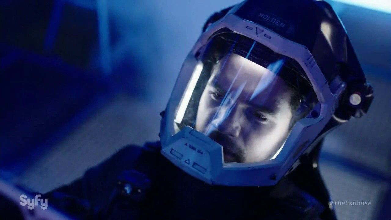 This Space Battle scene from The Expanse is one of the