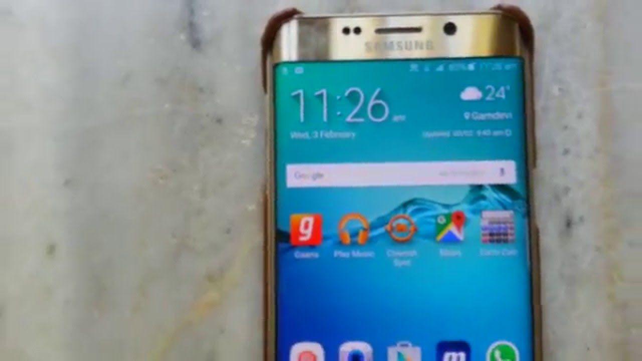Display Problem Black Spot On Samsung Galaxy S6 Edge Plus