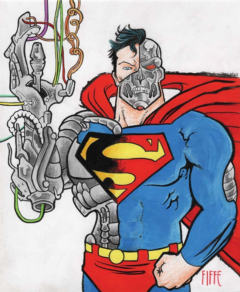 Michel Fiffe's Cyborg Superman-Hank Henshaw (With Images