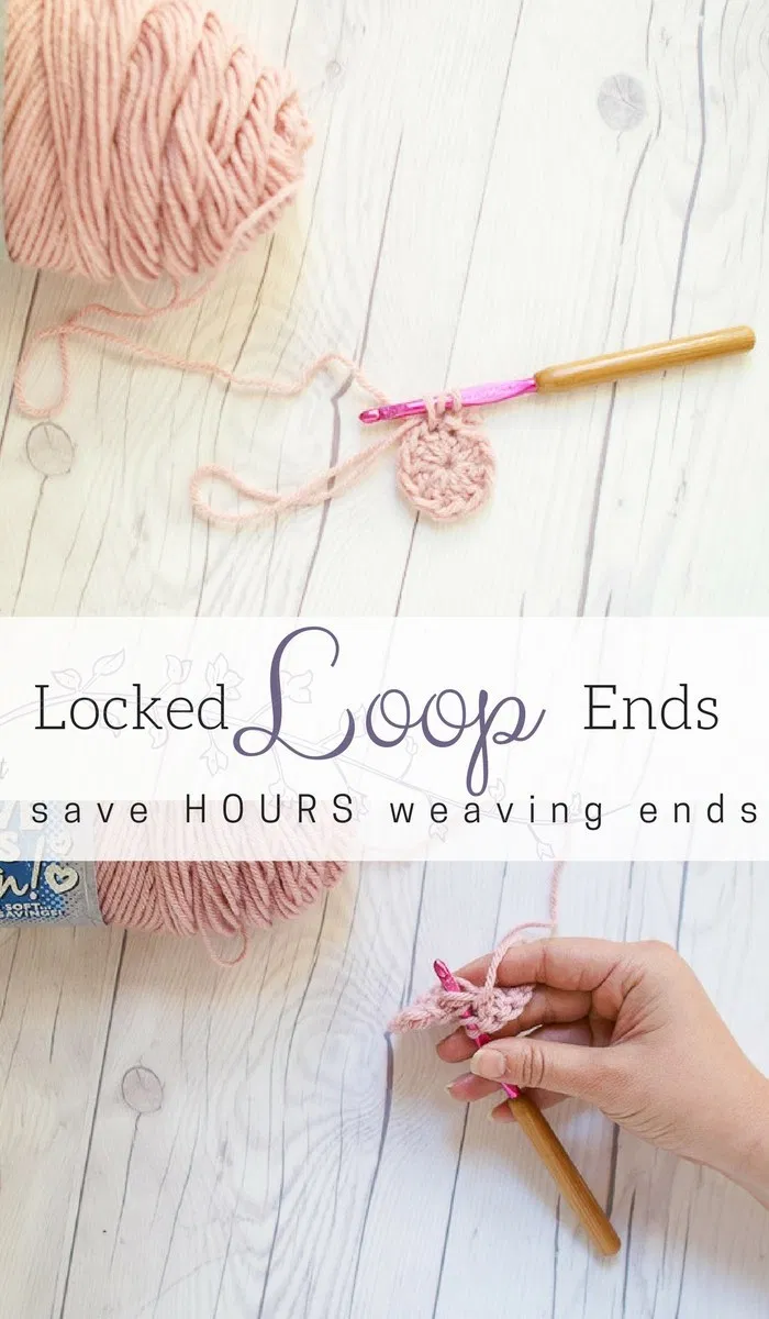 Locked Loop Ends Method  How to SECURELY Crochet in Yarn Tails in the Round  Locked Loop Ends Method  How to SECURELY Crochet in Yarn Tails in the Round  Salty Pearl Croc...
