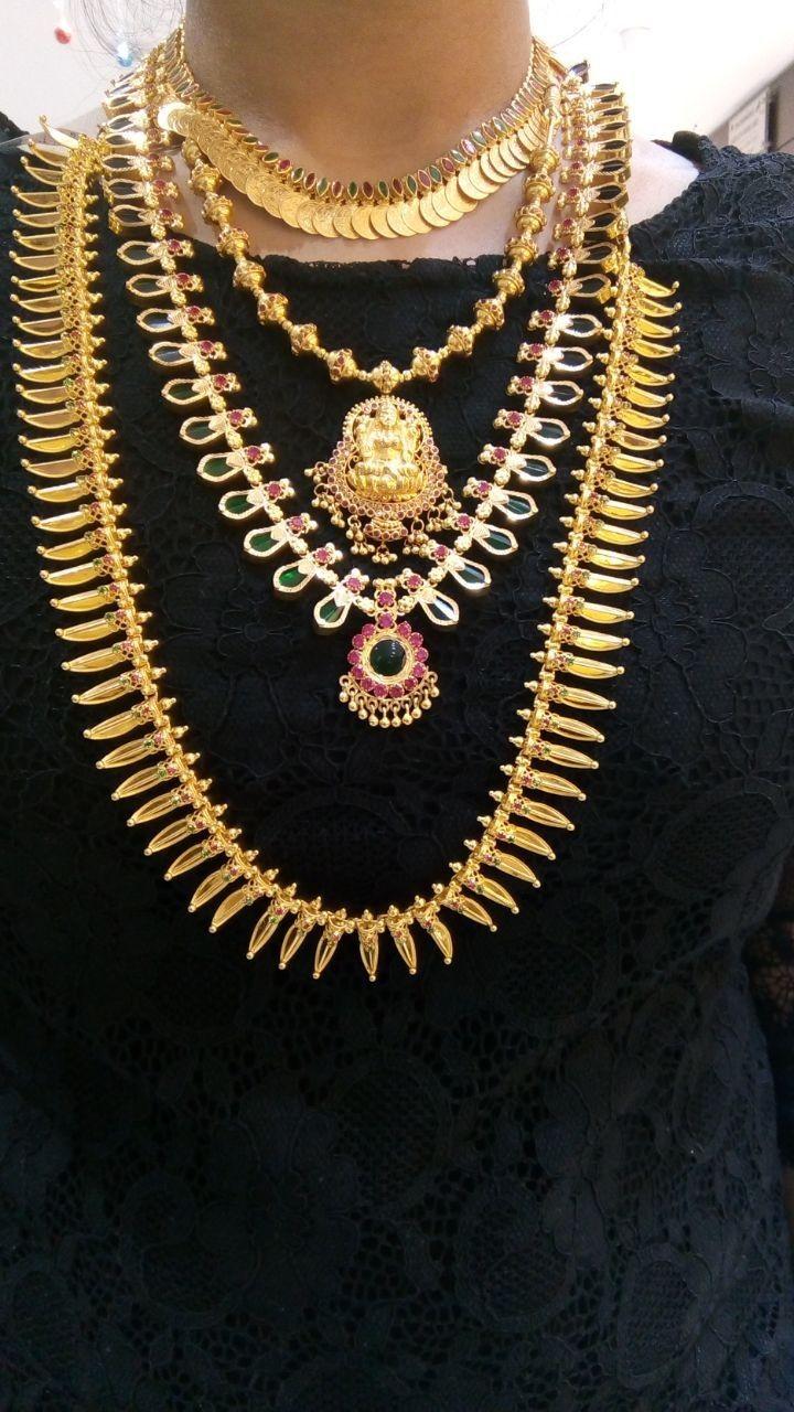 Kerala Jewellery Set Wedding Jewelry Sets Kerala Jewellery Indian Brides Jewelry