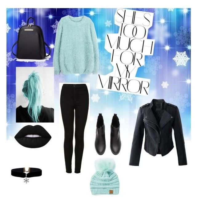 """""""Untitled #17"""" by fuada-18 ❤ liked on Polyvore featuring Chicwish, Topshop, Cheveux Corp. and Rika"""