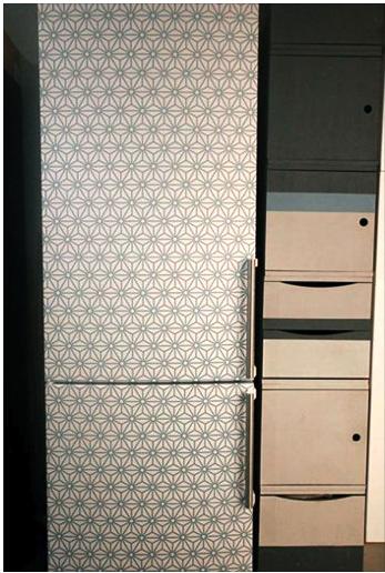 Idée Customisation idée customisation frigo - création réalisée avec le modèle (le
