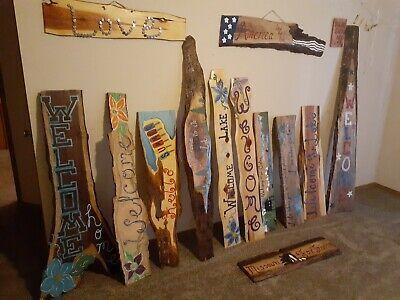 "HGTV /""General Store/"" Fixer Upper Large Rustic Wood Sign DIY Primitive"