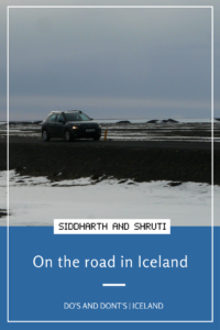 On the road in Iceland | Siddharth and Shruti