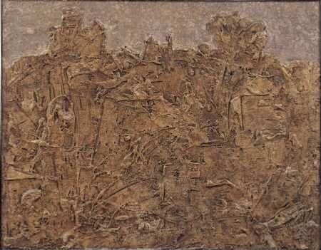 Dubuffet Paysage Blond Serie Paysages Du Mental Musee Des Beaux