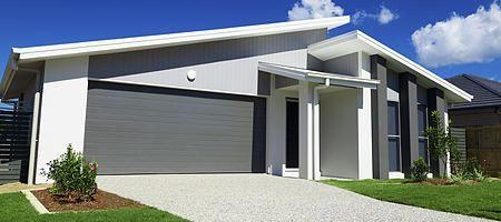 Ral 7035 Facade House Garage Doors Garage Door Installation