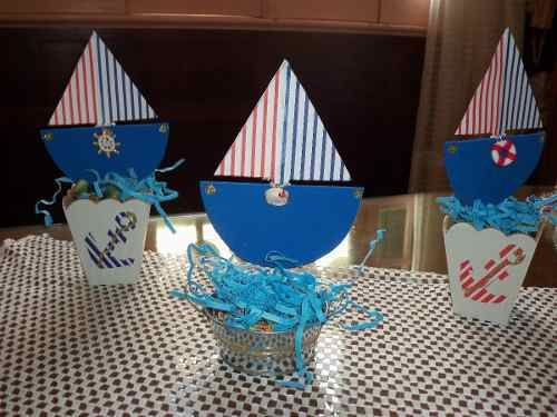 Cumplea os marinero centro de mesa buscar con google - Centros de mesa para cumpleanos ...