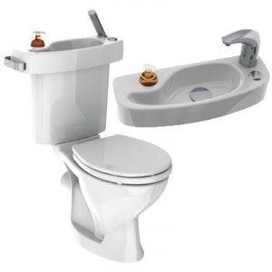 Economie D Eau Vos Toilettes Avec Lavabo Integre Lave Main Toilettes Lavabo