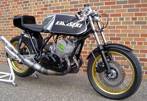 Kawasaki KH750 2 Stroke Triple Cafe Racer | Motorcycle Not