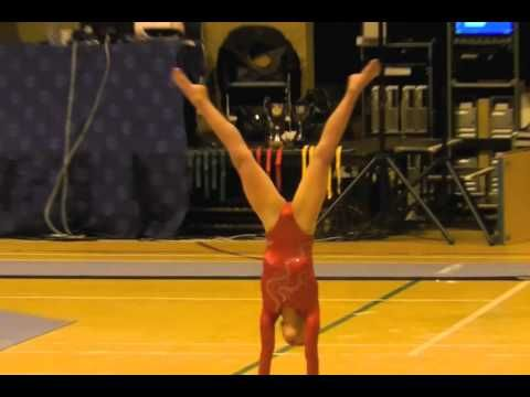 Amelie Morgan age 8, Compulsory Level 4, National Finals 2012