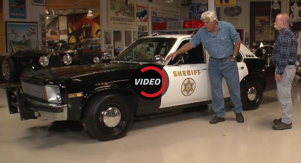 Jay Leno Welcomes Police Interceptor Utility To Garage Samples