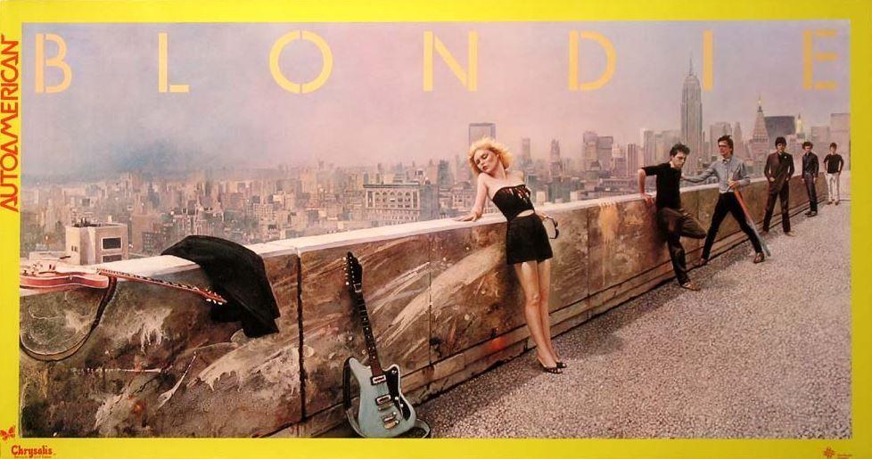 Blondie - Autoamerican (Album Promo Poster) | Movie posters, Debbie harry,  Vintage movies