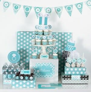 Something blue diy wedding party decorations kit despedida something blue diy wedding party decorations kit junglespirit Gallery