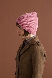 6fd98b52b0b Ravelry  Sideways Garter Hat pattern by Susan Mills (Bulky Yarn. Short Rows)
