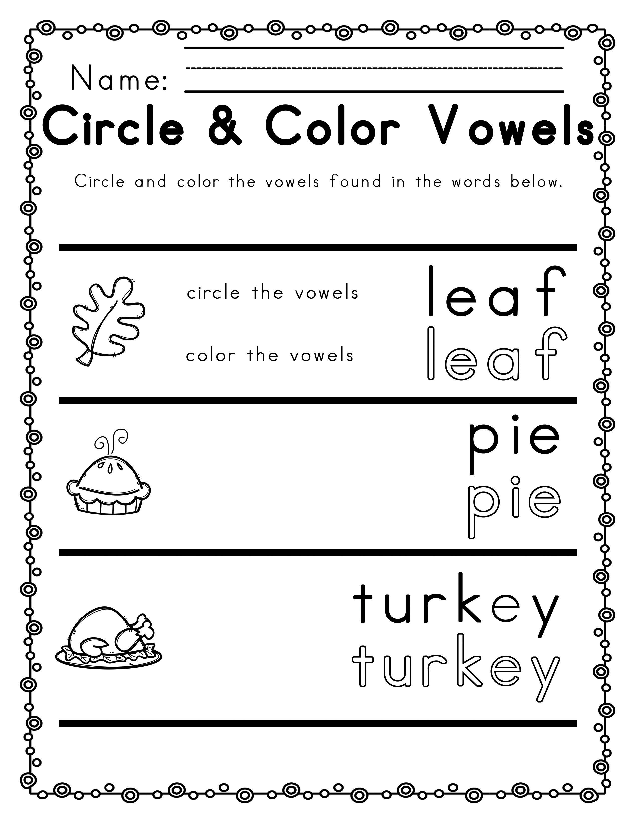 Worksheets For Thanksgiving Ela Literacy And Math