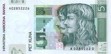 5 Kuna Lice Banknotes Croatia Sketches Och Ebay