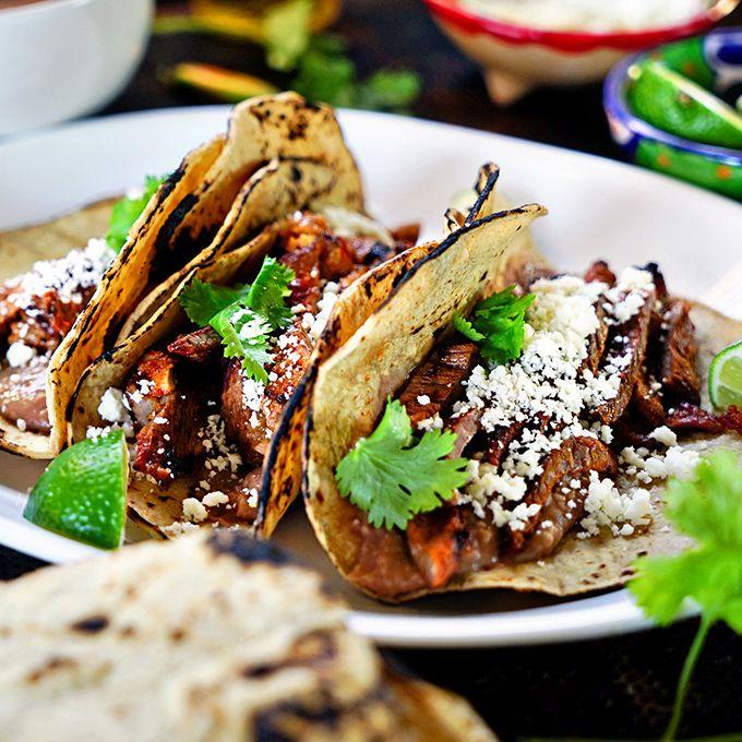 Mojo Carne Asada Tacos #asadatacos