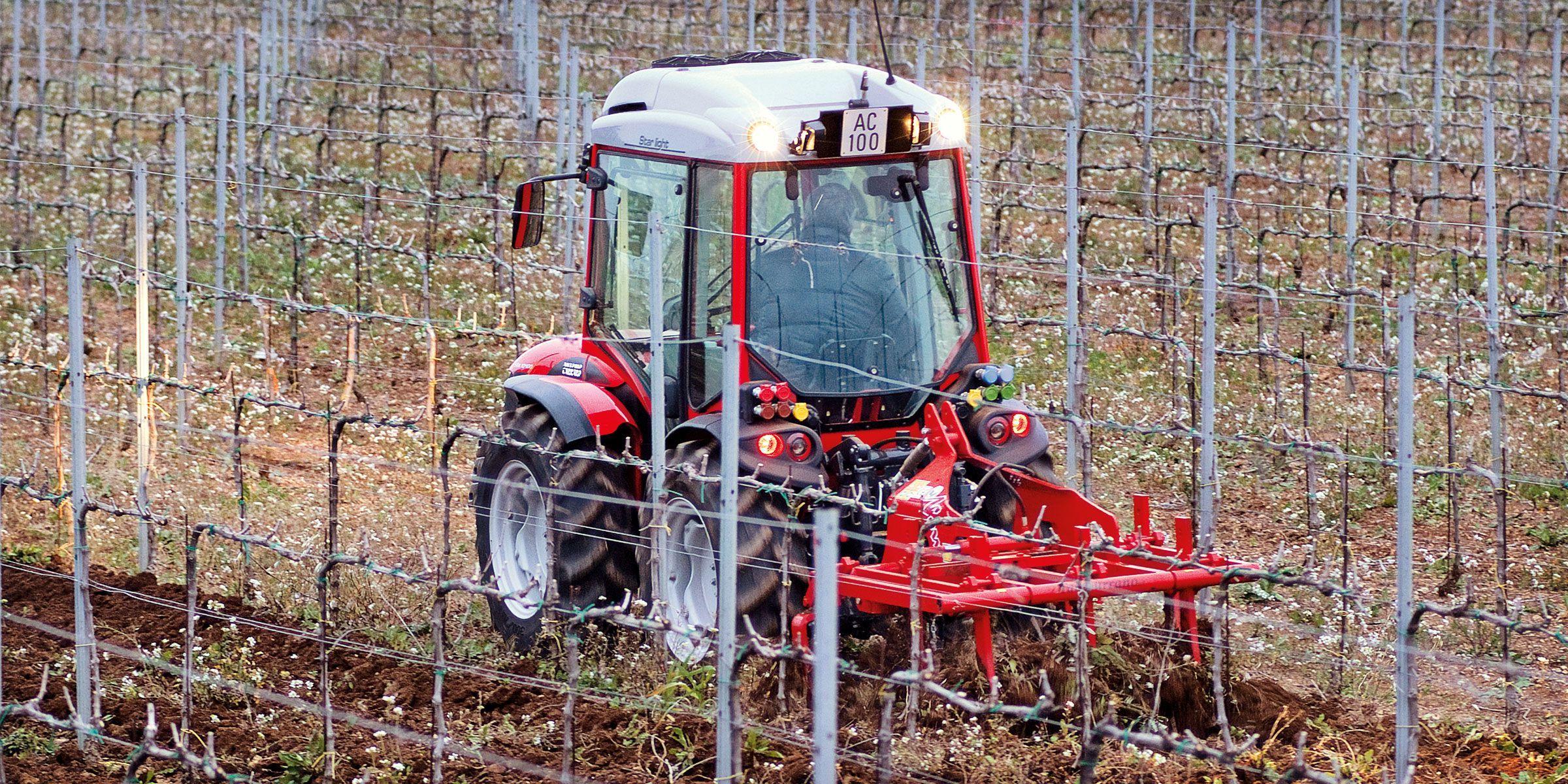 Antonio Carraro Tractors SX Ergit S Tractors, Power