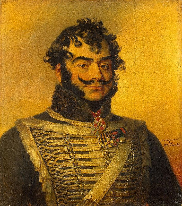 Dawe George - Portrait of David A. Delyanov (1761- after 1833) - GJ-8069 | da Faces of Ancient Europe