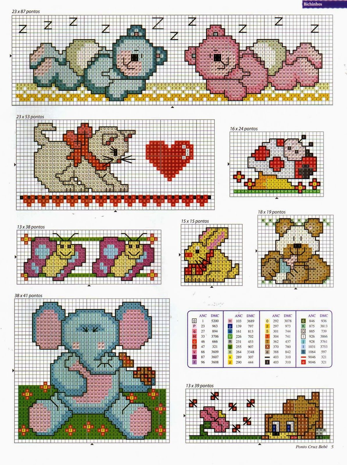 Punto de Cruz para bebes | Baby cross stitch | Pinterest | Cross ...