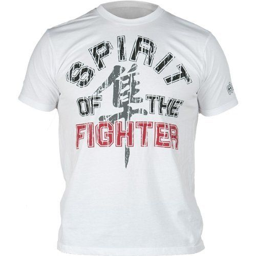 Hayabusa Official Mma Spirit Of The Fighter T Shirts Tee White Red Large By Hayabusa Fightwear 29 39 100 Cotton Top Qual Mma Gear Mens Tops Tee Shirts