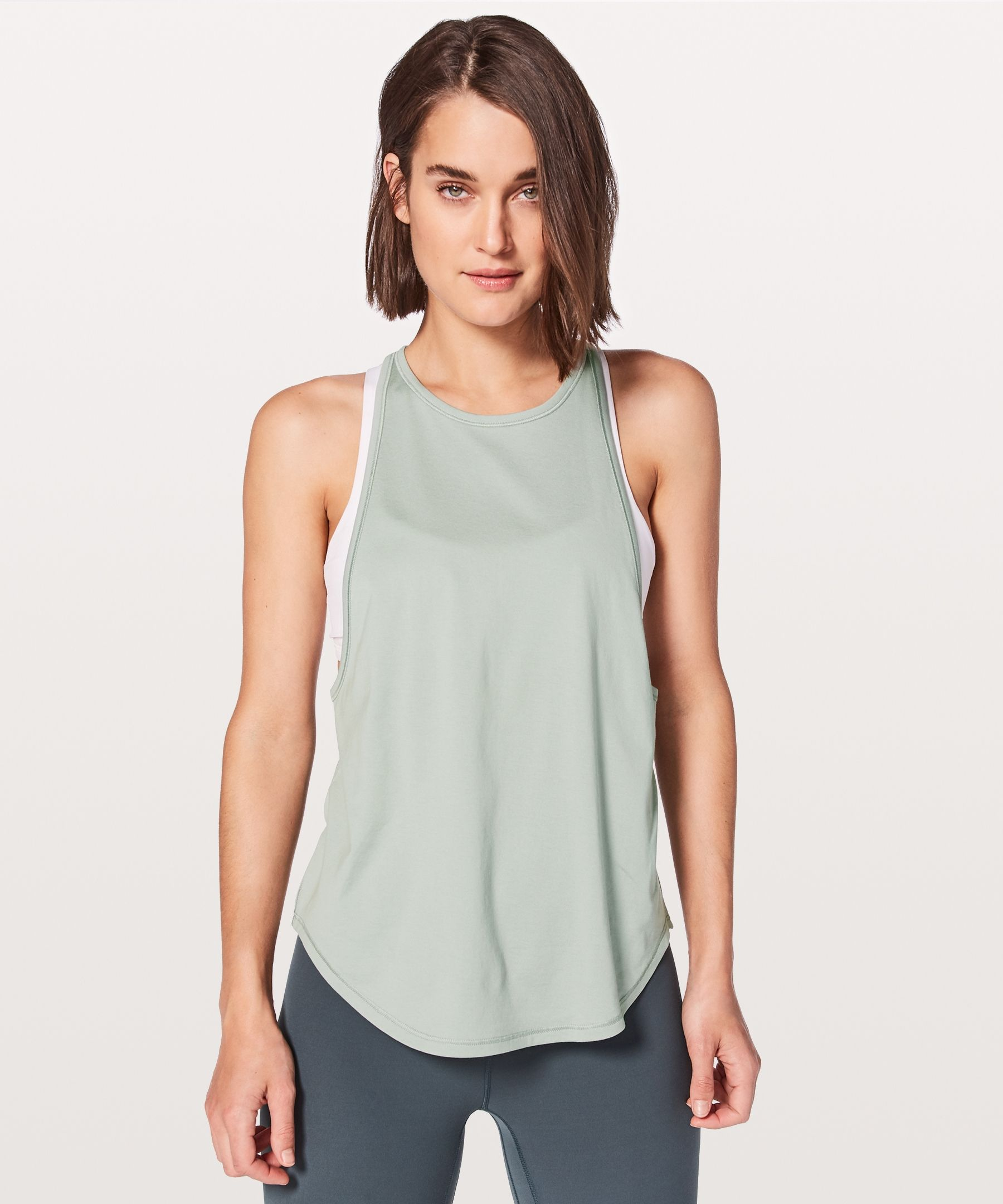 aa63a32ed3 Sweat Date Singlet - We designed this muscle tank with super low armholes  for airflow during your practice and hot summer days.
