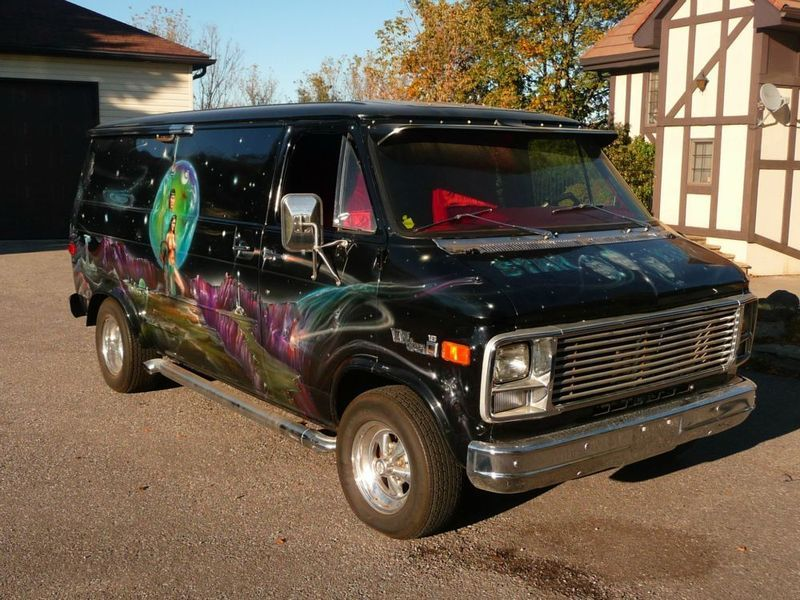 1db294b400d728 1978 GMC Van with custom star trek mural - awesome vintage blast from the  past! For sale in Toronto