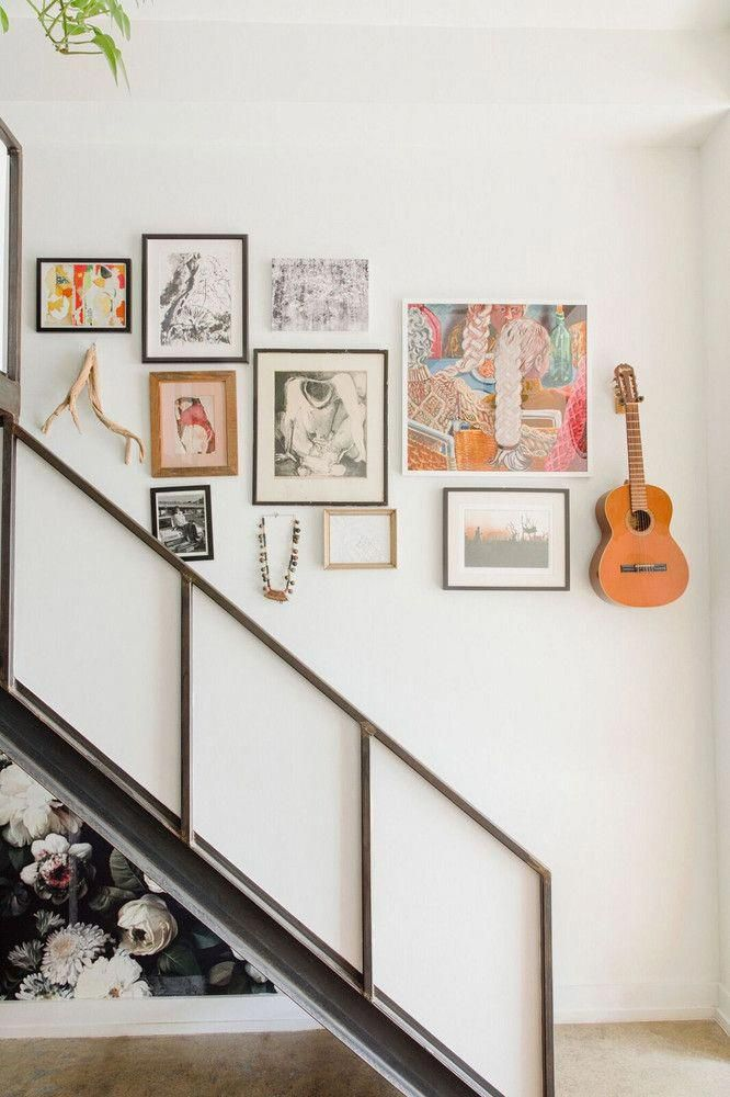 Eclectic  gallery wall houseinteriors also in rh pinterest