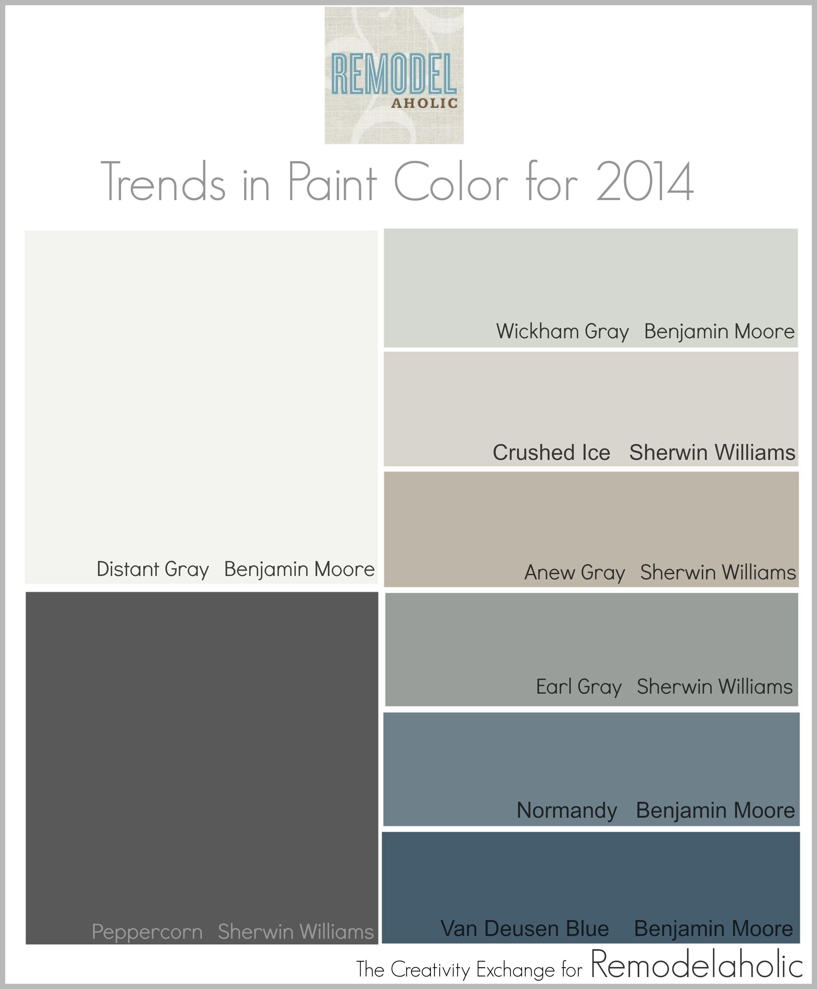 New Decor Ideas for 2014. Color TrendsColor CombosColor SchemesPaint ...