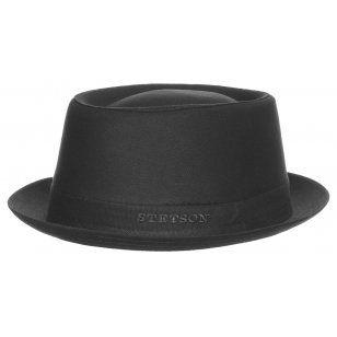 Athens Cotton Pork Pie Hat by Stetson Sun hats Stetson kOPo0YdI