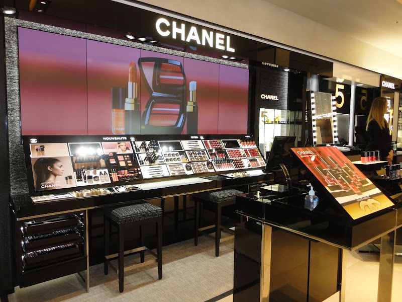 Chanel Counter Commercial Space Design Cosmetic Store Cosmetic Display