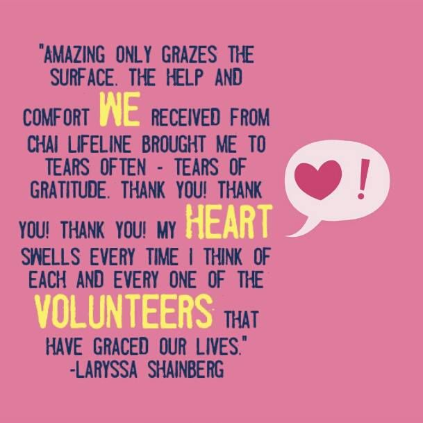 We ❤ Volunteers Thank You Letters Pinterest