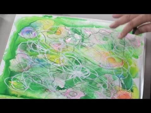 Painting Flowers From Imagination DVD | NorthLightShop.com