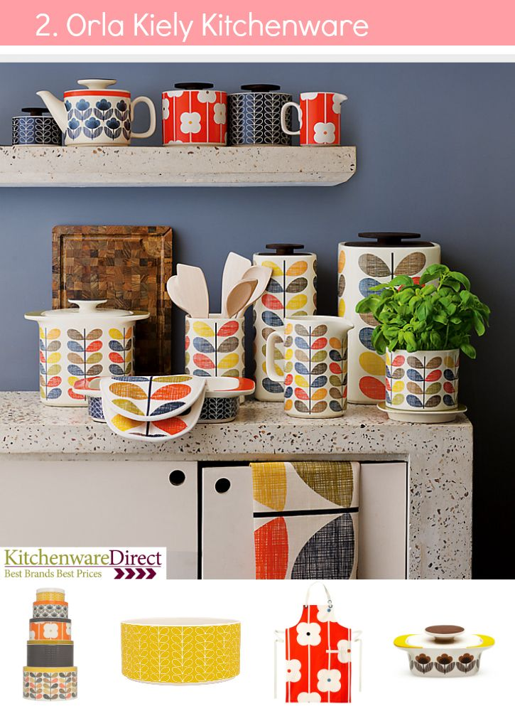 Orla Kiely Kitchen Accessories   Ones On The Shelf