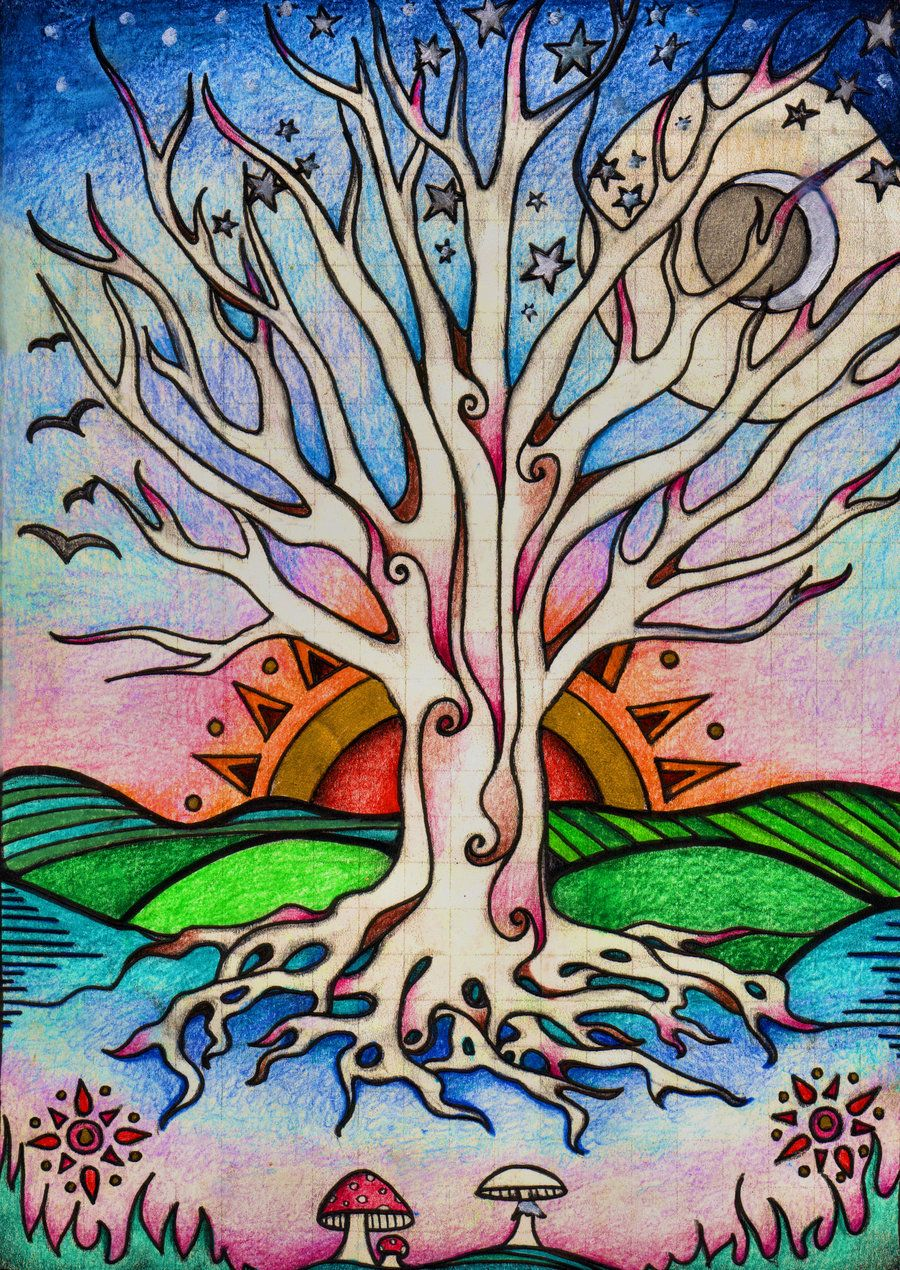 Tree Of Life Art | tree of life sketch by ~lauraborealisis on deviantART