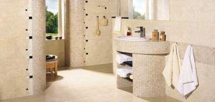 super bathroom beige white mosaic tiles 61+ ideas | beige