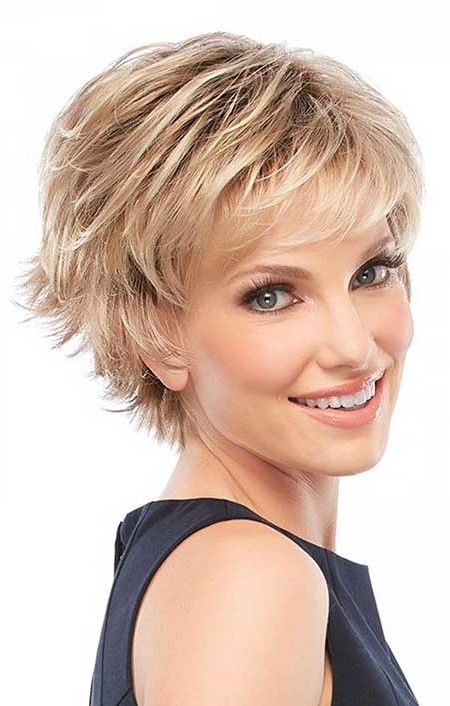 Short cropped hairstyles for fine hair short shag hairstyles medium short haircuts urmus Image collections