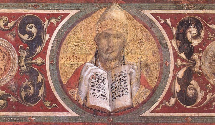❤ - SIMONE MARTINI (1285 -1344) - Maestà (Madonna with Angels and Saints), detail - 1315. Fresco. Palazzo Pubblico, San Gimignano.