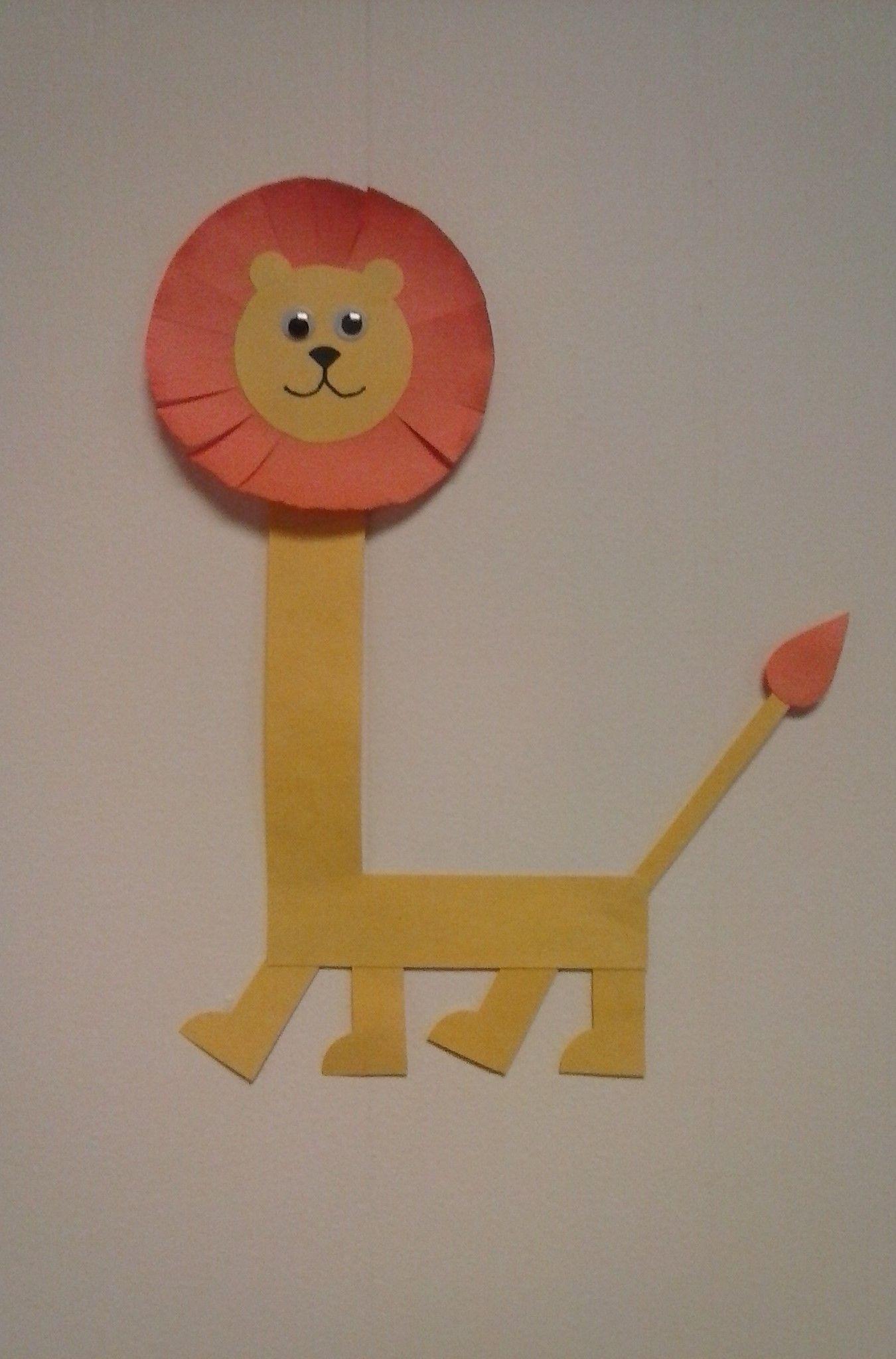 Preschool letter L // L is for Lion Alphabet crafts