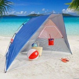 Portable Shade Canopy For Camping New Rio Beach Sun Shelter Tent Cabana Umbrella