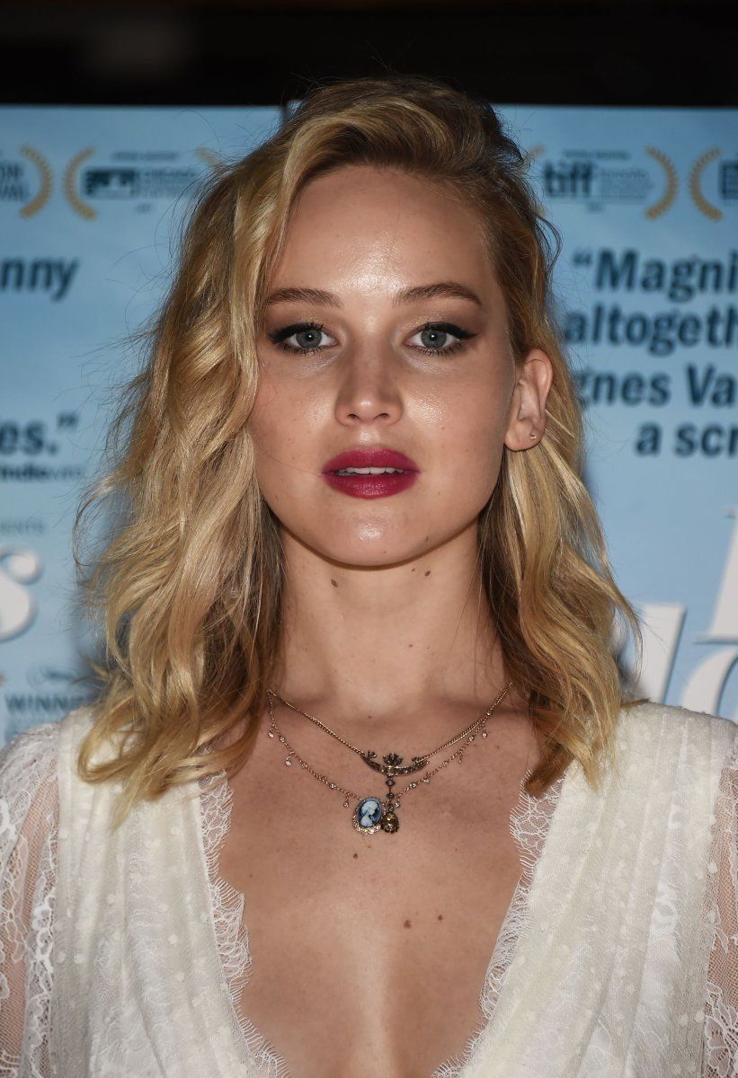 Jennifer Lawrence At The 2017 Premiere Of Faces Places