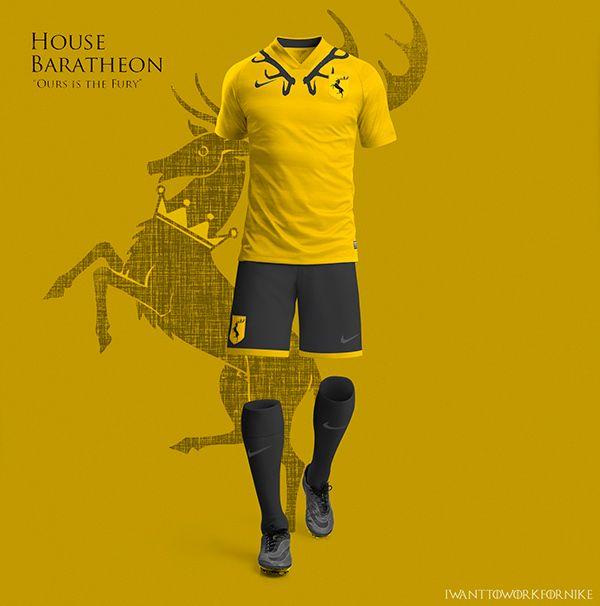 Conheça como seriam os uniformes de Game of Thrones - Guia do Boleiro Uniformes  Futebol 03cdeeb3e0469